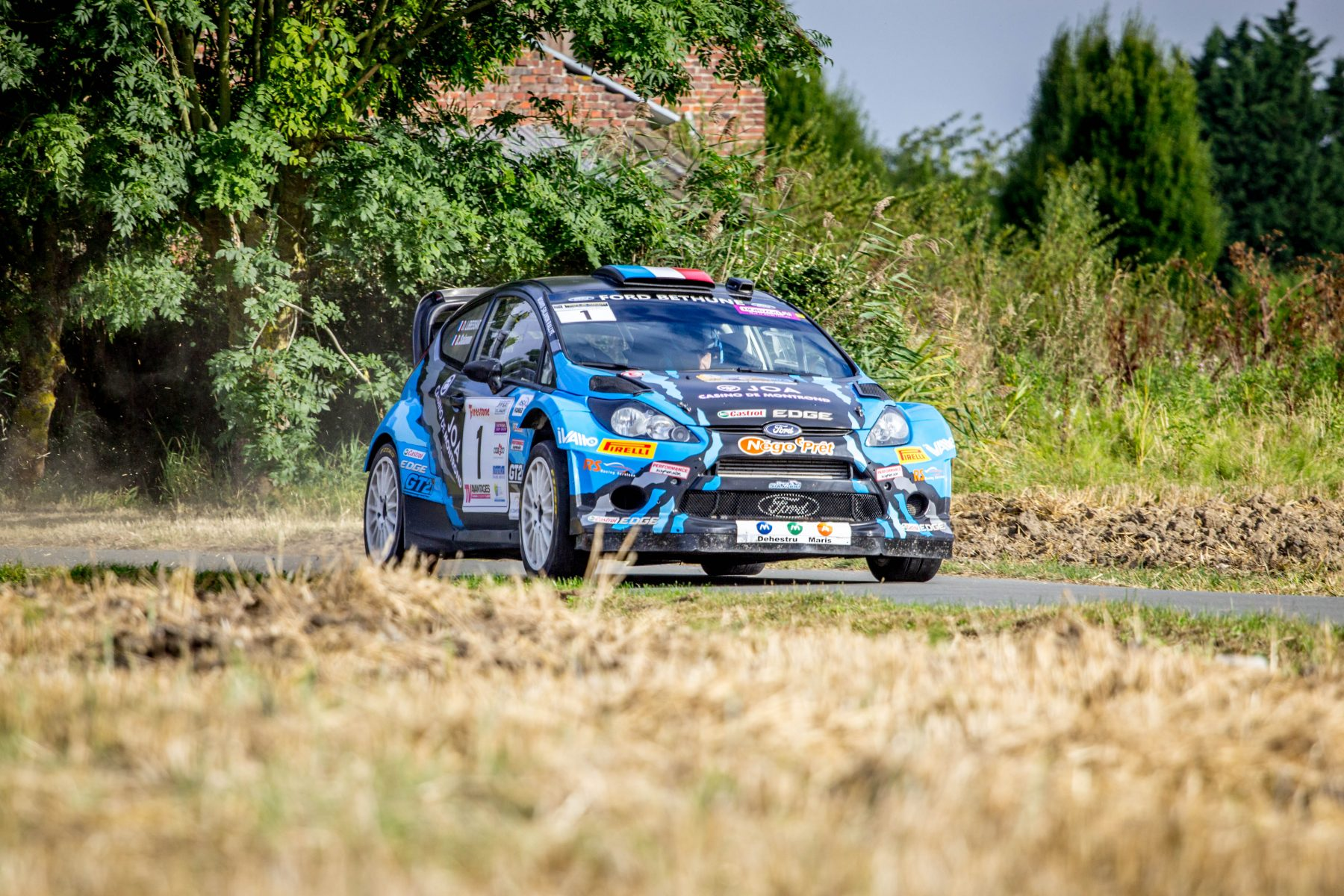 WRC cars ford Fiesta