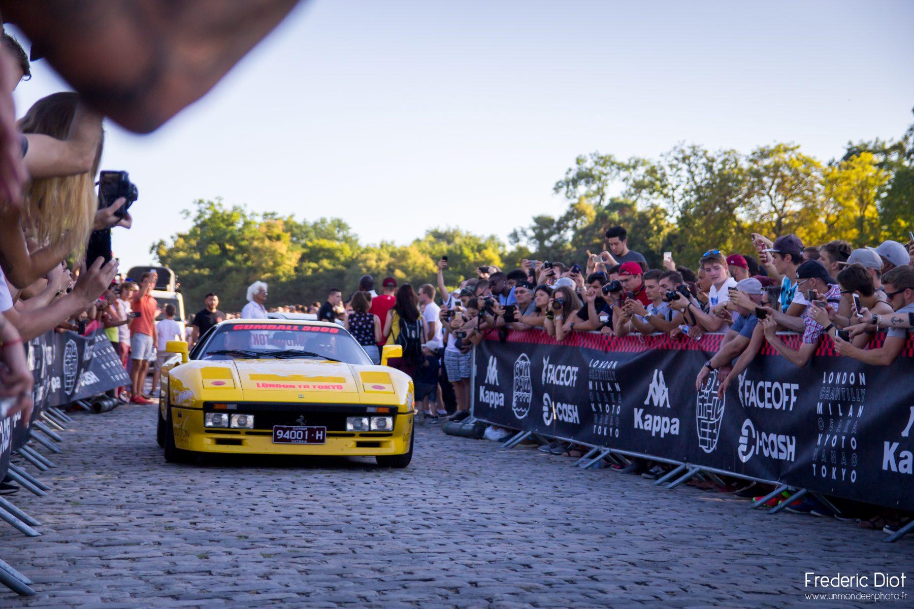 Gumballl 3000 Ferrari 288 GTO