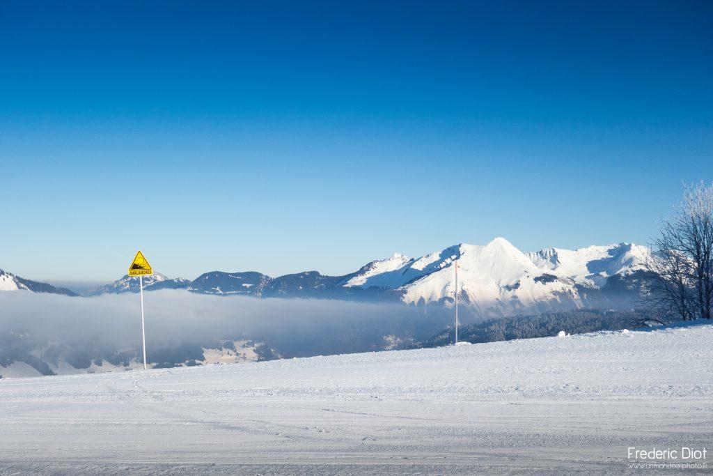 Risque d'avalanche à Morzine