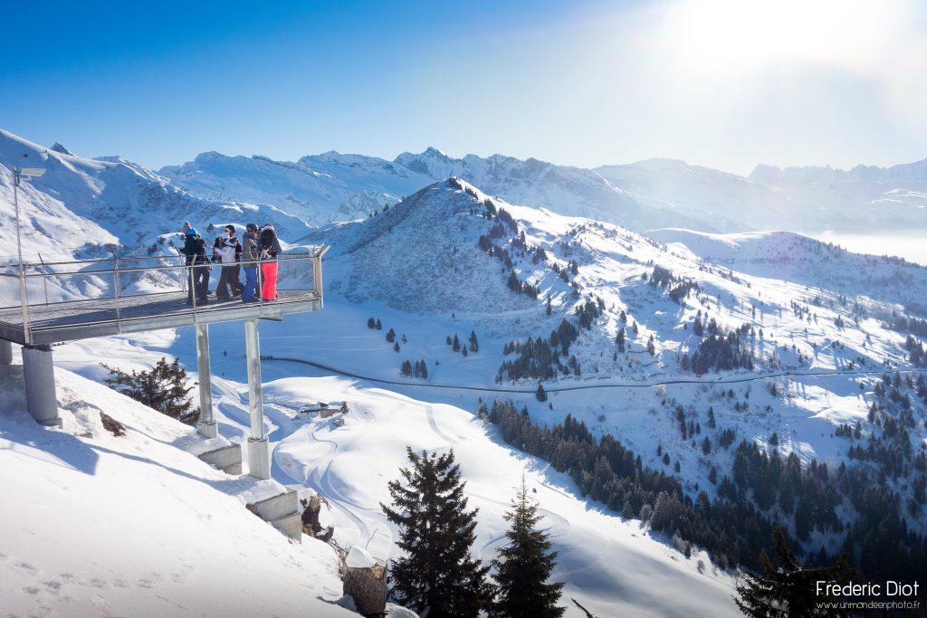 Au loin le Mont Blanc - Morzine
