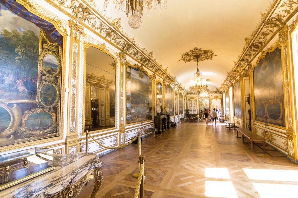 La salle d'honneur du Château de Chantilly