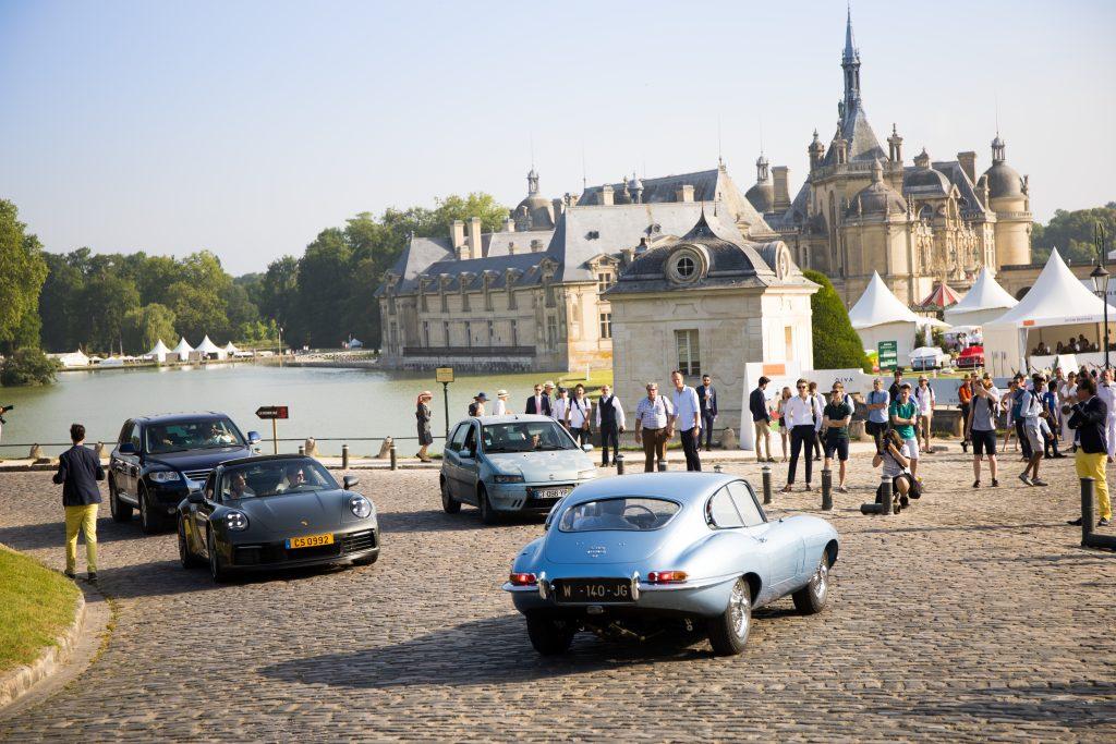 Chantilly Art et Élégance - arrivée