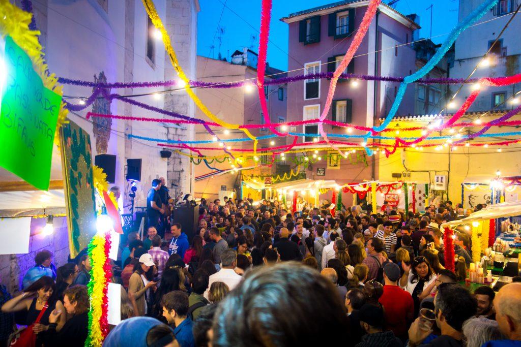 Les fêtes à Lisbonne